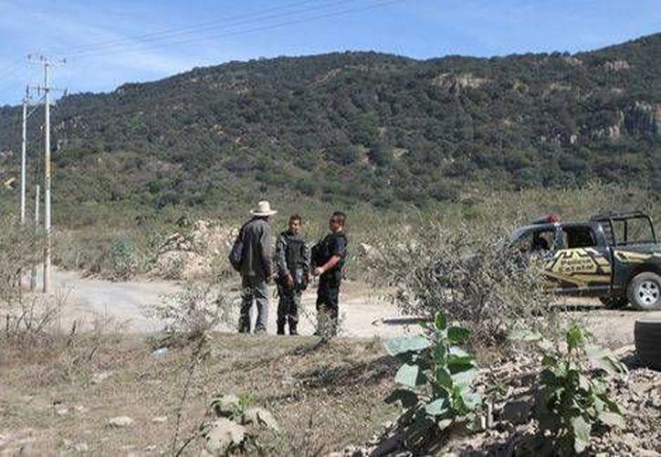 Las autoridades estatales presumen la existencia de más restos humanos en el lugar. (Milenio)