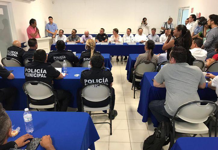 El sector empresarial se reunió con autoridades del Ayuntamiento. (Adrián Barreto/SIPSE)