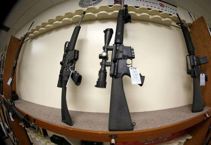 La compra de armas de asalto está permitida a todos los ciudadanos en Estados Unidos. (Archivo/Agencias)