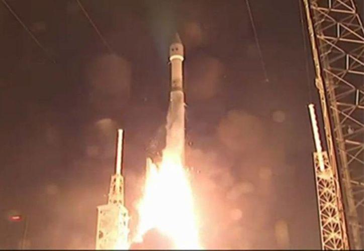 El lanzamiento del satélite Morelos 3 se realizó desde la Base de la Fuerza Aérea de Estados Unidos en Cabo Cañaveral, Florida. (Notimex)
