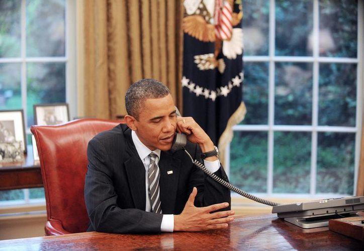 En la imagen un registro del presidente de EU, Barack Obama, en la Casa Blanca. (EFE/Archivo)
