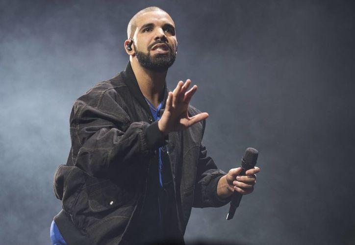 El cantante Drake tiene la canción que implantó el récord de más reproducida en la plataforma Spotify: 'One Dance'. (Archivo/AP)