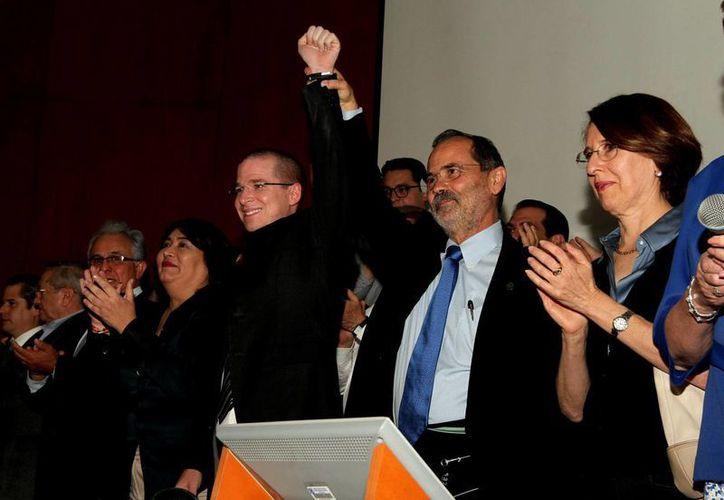 Gustavo Madero dijo que estaba dispuesto a trabajar con los opositores a su dirigencia. (Notimex)