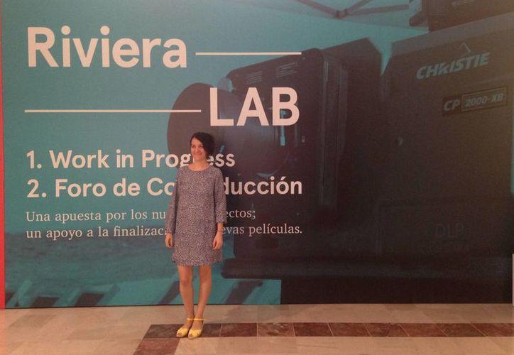 Presentan el RivieraLab en la tercera edición del Riviera Maya Film Festival. (Luis Ballesteros/SIPSE)