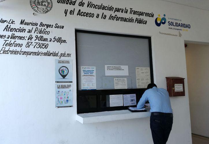 El Comité de Transparencia que fue creado en la pasada administración no será desarticulado. (Adrián Barreto/SIPSE)