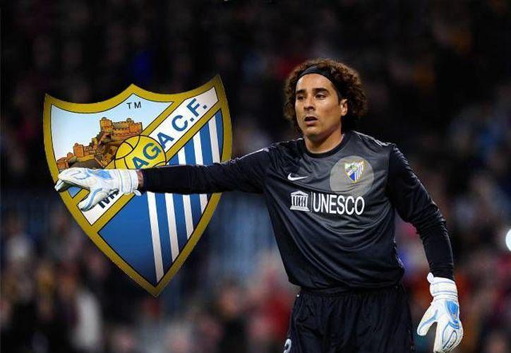 Por primera vez desde que llegó a la Liga de España, el mexicano Guillermo Mexicano pudo no solo jugar sino hacerlo como titular en partido del Málaga ante Sporting. (tiempo.com.mx)