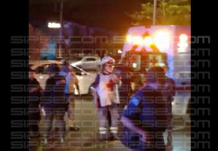 La agresión ocurrió poco después de las 20:15 horas. (Redacción/SIPSE)