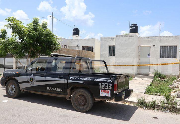 El domicilio en donde habría ocurrido el crimen. (Aldo Pallota/SIPSE)