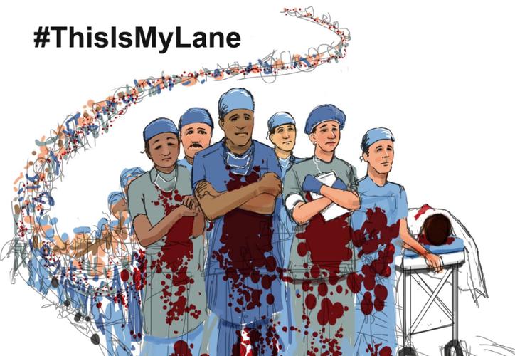 Algunos médicos advierten sobre las lesiones relacionadas con armas de fuego. (Twitter)