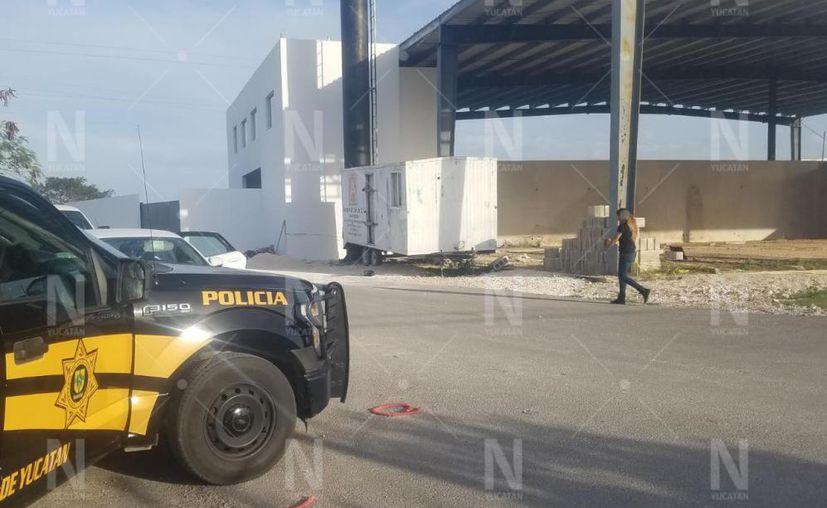 Los elementos de la SSP lo trasladaron al área de seguridad para su posterior puesta a disposición de la Fiscalía General del Estado. (Novedades Yucatán)