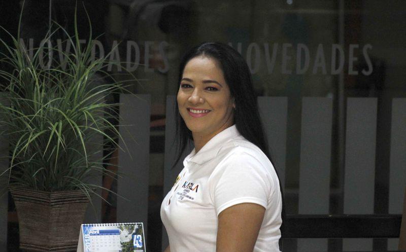 La gente motivó a Karla Romero a buscar un espacio en la política. (Israel Leal/SIPSE)