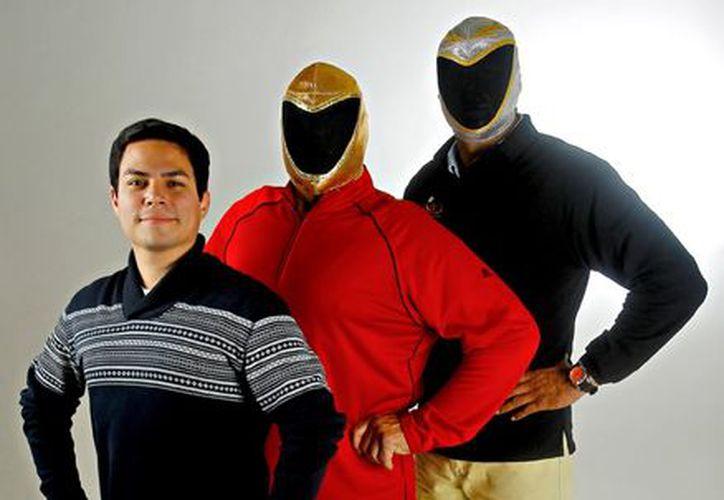 Marco Omar Torres, Tinieblas y Tinieblas Jr. (Agencia Reforma)