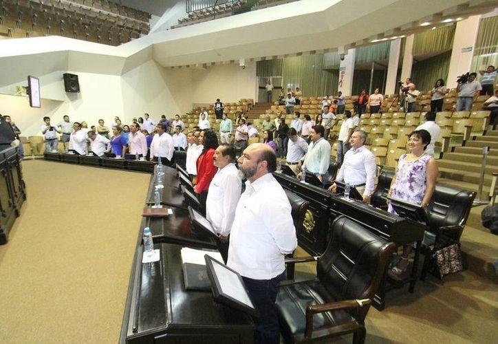 La clausura del Segundo Período Ordinario de Sesiones del Tercer Año de Ejercicio Constitucional. (SIPSE)