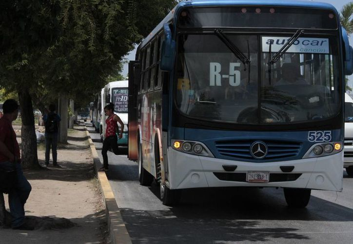 Instalarán paraderos en la Ruta 5. (Tomás Álvarez/SIPSE)