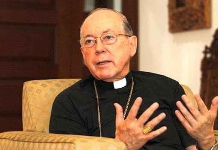 """Cipriani también se refirió al celibato, al que consideró un """"tesoro"""" para el sacerdocio. (perupress.com)"""