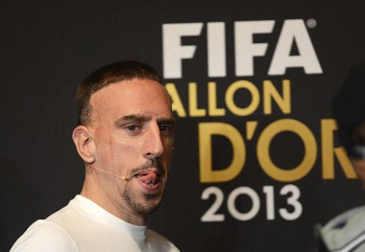 Lo que más molestó a los medios franceses fue que Ribery fue colocado detrás del argentino Lionel Messi. (EFE/Archivo)