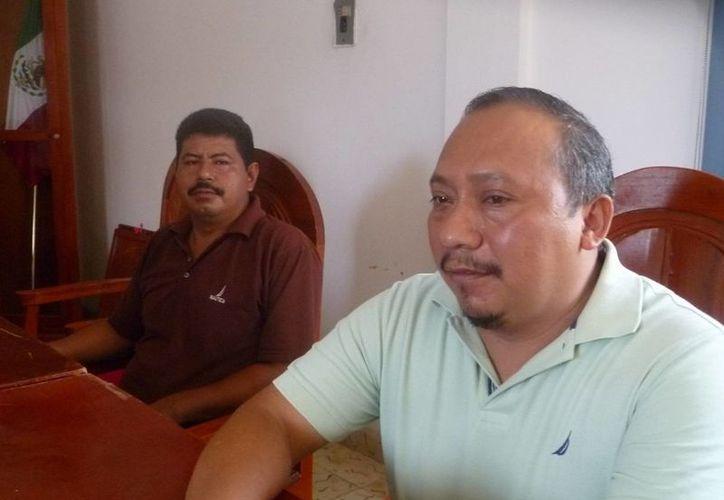 Juan Diego Maglah Yam, dijo que como está la situación posiblemente no lo inviten en ninguna otra sesión. (Raúl Balam/SIPSE)