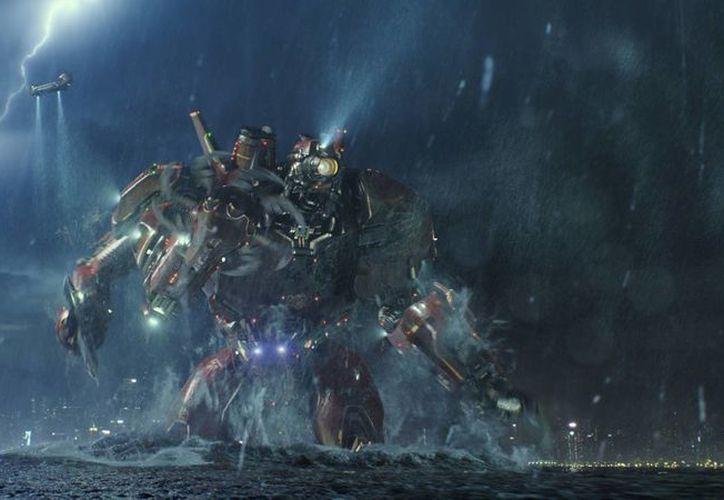 Los efectos visuales de Pacific Rim serán distinguidos en octubre en Beverly Hills. (collider.com)