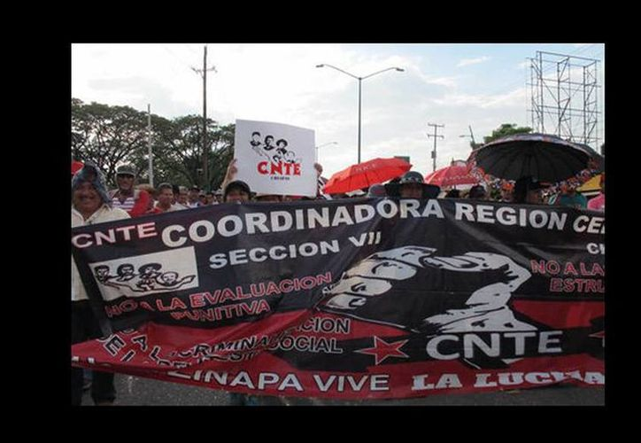 La CNTE anunció que las marchas y los bloqueos carreteros continuarán. (Issa Maldonado/Milenio)