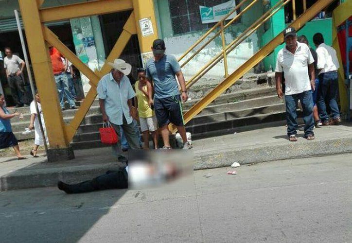 Este asesinato se convierte en el número seis, perpetrado a algún elemento de  la policía. (Foto: Excélsior).