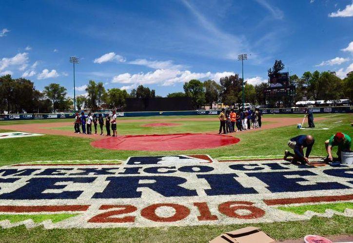 El estadio Fray Nano que fue remozado el año pasado está listo para recibir los dos duelos de pretemporada entre Padres y Astros. (Facebook: Padres de San Diego)