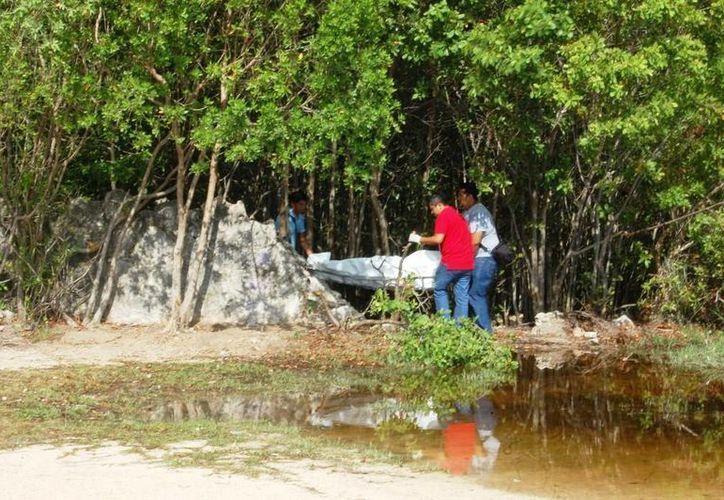 Dos cuerpos sin vida fueron encontrados en la costa de Playa del Carmen. (Daniel Pacheco/SIPSE)