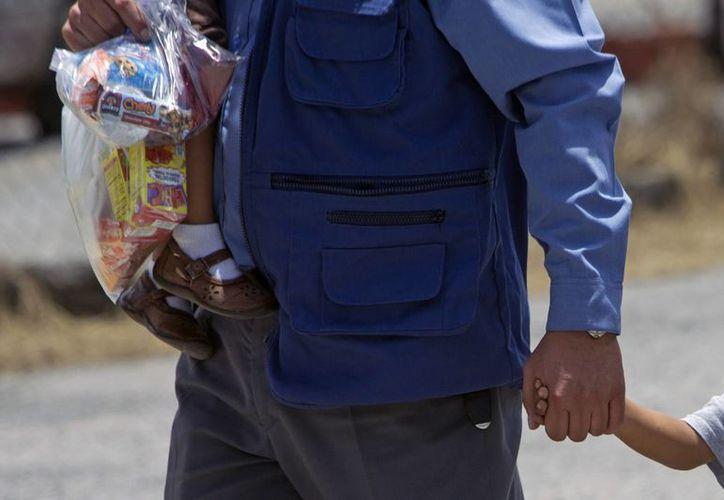 Los refugios en las bases militares se abrieron entre mayo y junio para hacer frente a la llegada masiva de niños centroamericanos solos a la frontera sur. (Archivo/EFE)