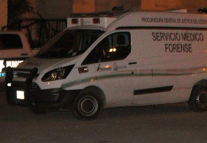 Los cuerpos fueron trasladados al Servicio Médico Forense. (Redacción)