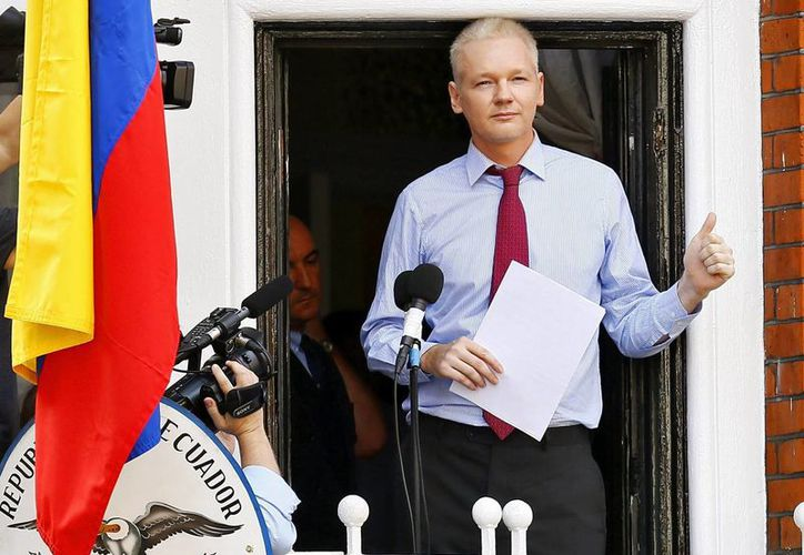 En junio del 2012 Assange ingresó a la embajada de Ecuador en Londres para evitar su inminente extradición a Suecia. (Archivo/EFE)