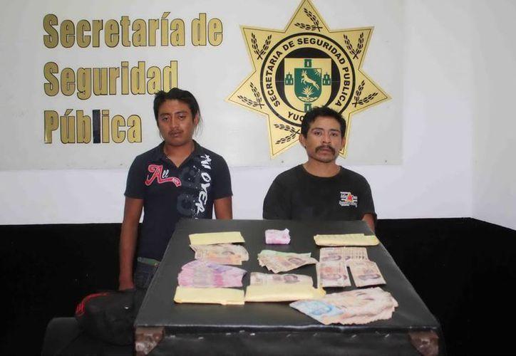 Juan Carlos Cetzal Chim y Luis Felipe Domínguez Mugarte. (Cortesía)