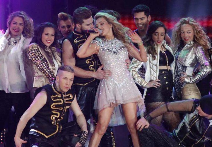 """El 5 de septiembre, HBO Latino estrenará el """"Thalía Viva Tour"""", basado en el concierto que ofreció en el Auditorio Nacional del DF la primavera pasada. (Notimex/Archivo)"""