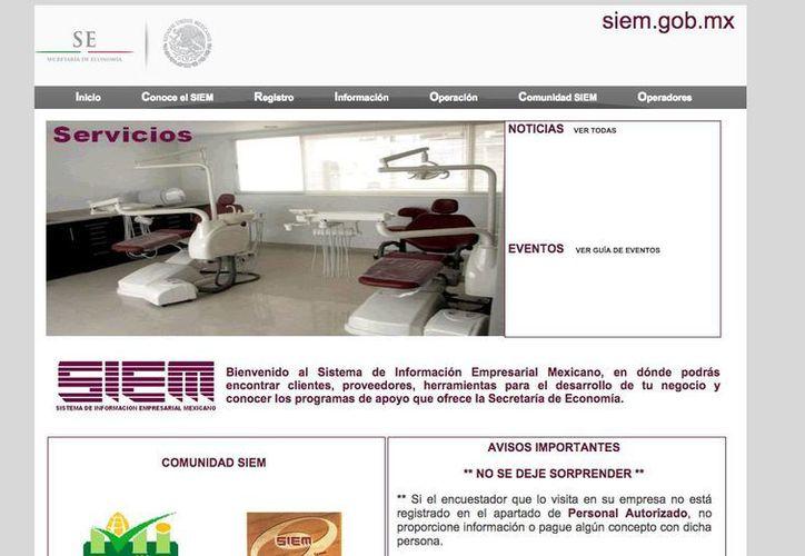 Se considera como empresa formal aquella que está distinguida con el sello SIEM. (Israel Leal/SIPSE)