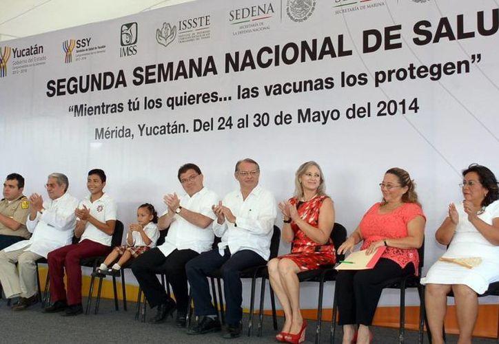 La Semana Nacional de Salud fue inaugurada en la colonia Emiliano Zapata Sur. (SIPSE)