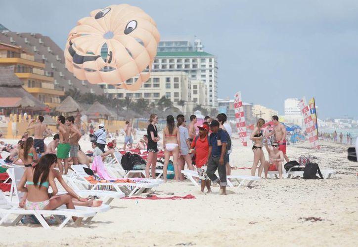 Esperan una mayor afluencia de turistas extranjeros con la vaciones de verano. (Luis Soto/SIPSE)
