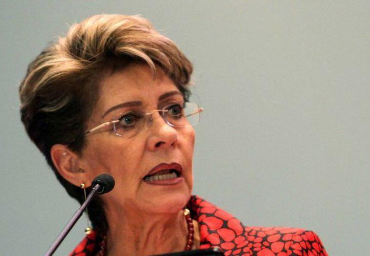 La secretaria de Salud federal, Mercedes Juan. (Notimex)