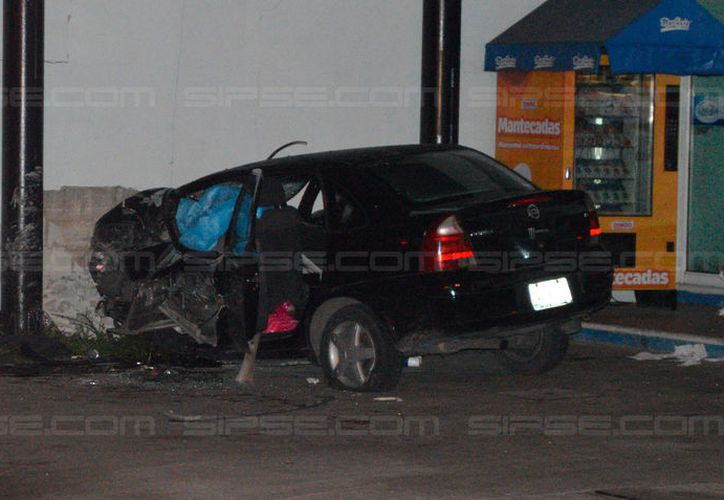 Este lunes, un hombre murió en un accidente de tránsito en el fraccionamiento Francisco de Montejo. (Carlos Navarrete/SIPSE)