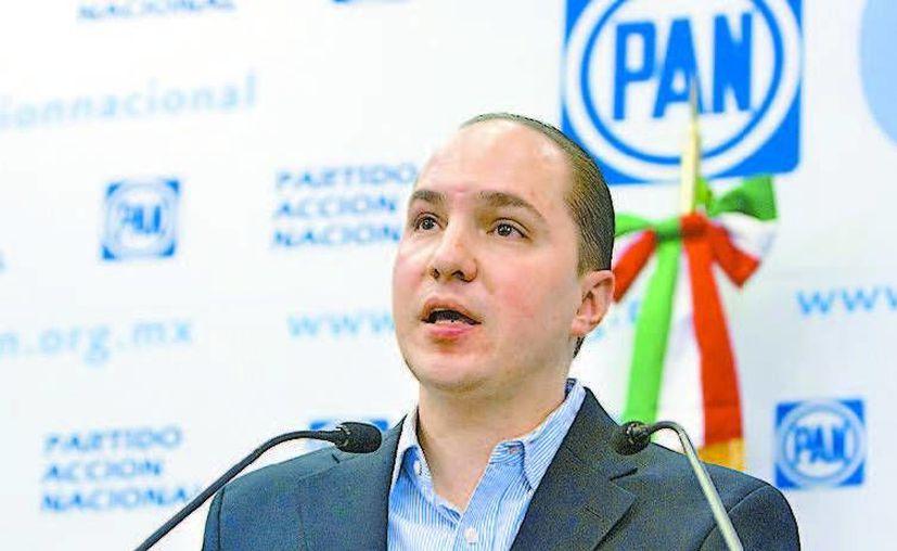 Eduardo Aguilar, representante jurídico de Acción Nacional. (Milenio)