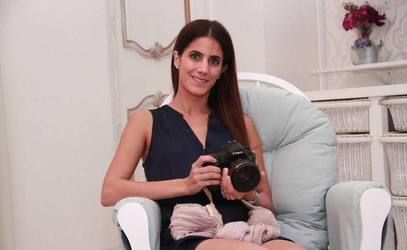 Marisol Chapur, una jóven fotógrafa emprendedora que ya ha alcanzado varias metas. (Jorge Acosta/Milenio Novedades)