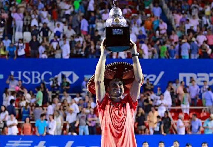 En 2015, David Ferrer fue el campeón del Abierto Mexicano de Tenis. En el presente año se jugará la 23 edición de torneo nuevamente en el puerto de Acapulco. (Archivo/planoinformativo.com)