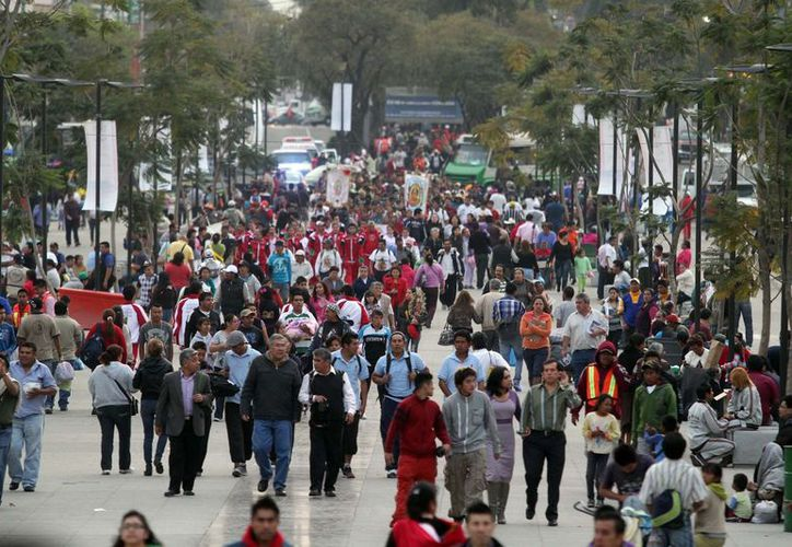 Esperan millones de peregrinos en la Basílica de Guadalupe. (Notimex)