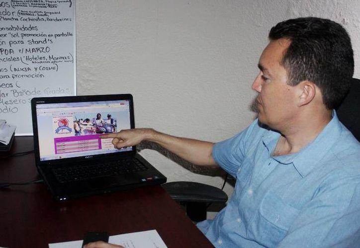 El coordinador del torneo dijo que se incentiva la participación de las mujeres en diferentes torneos. (Lanrry Parra/SIPSE)