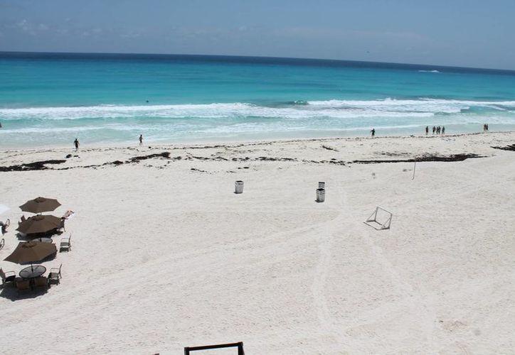 Darán a conocer información sobre las condiciones de las playas del Estado. (Israel Leal/SIPSE)