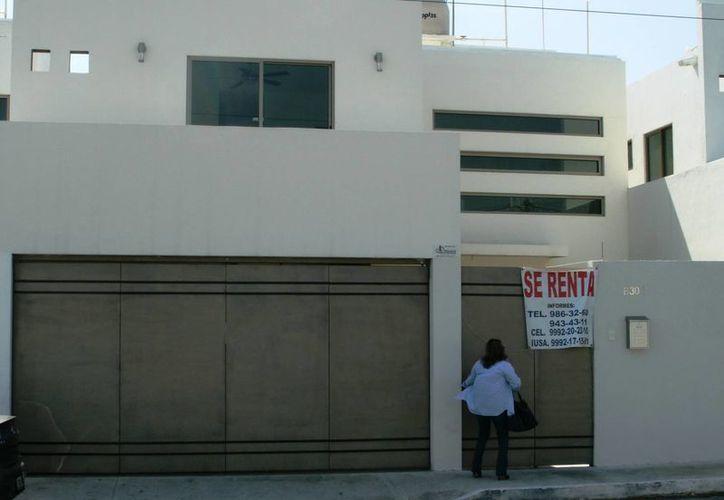 En la zona norte de Mérida, las rentas oscilan entre los 15 mil y los 20 mil pesos. (SIPSE)