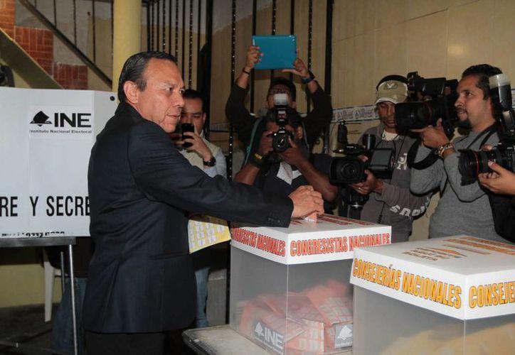 Jesús Zambrano dijo que una comisión del PRD monitoreará los casos especiales que surjan durante la contienda interna. (Notimex)