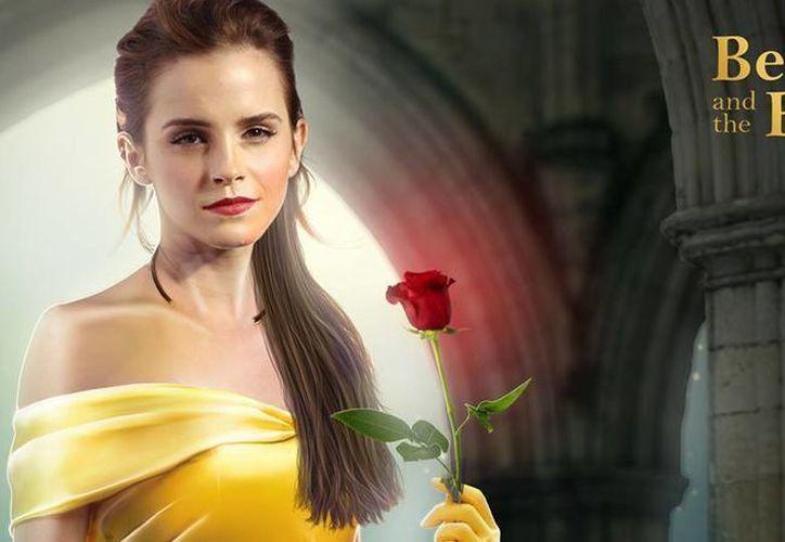 Emma Watson interpretará a Bella en la película 'La Bella y la Bestia' con actores, que se estrenará en marzo de 2017. (moviepilot)