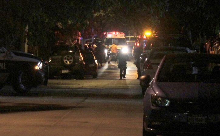 El ataque se registró en la calle Palmar con avenida Palenque, en la Supermanzana 29. (Redacción)