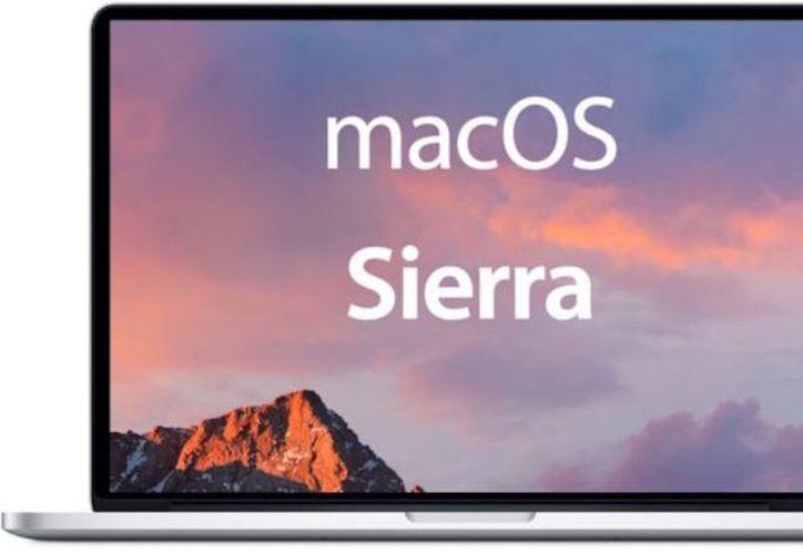 La actualización de MacOS 10.12.4 Sierra, ya disponible a través de la App Store. (Vanguardia).