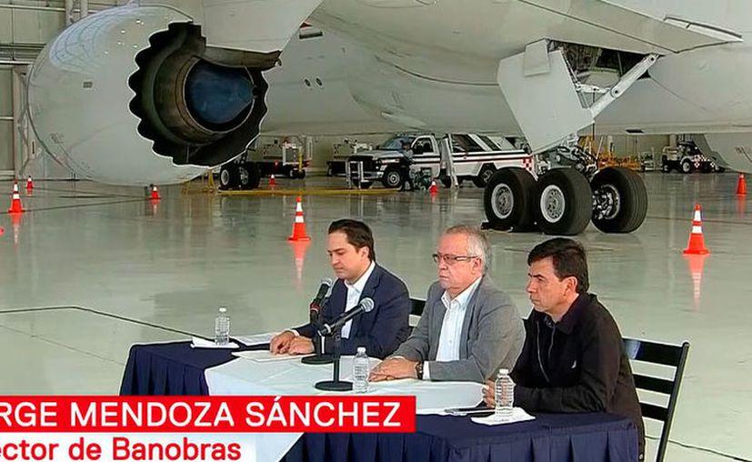 El anuncio se realizó en un hangar del Aeropuerto Internacional de la Ciudad de México. (Redacción/SIPSE)