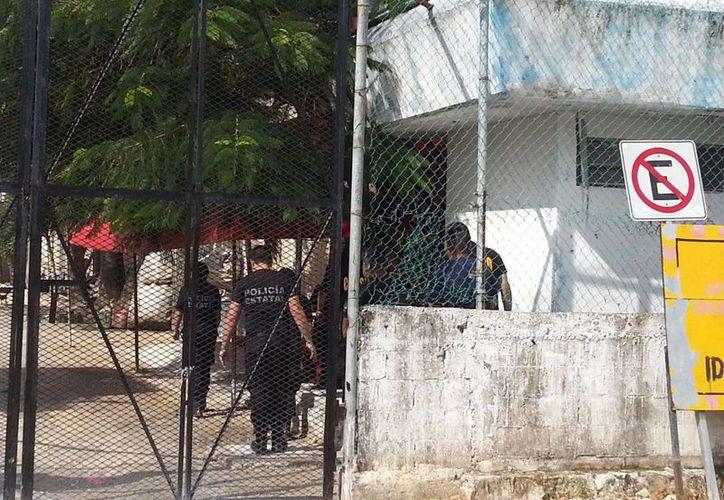 Los elementos exigen a las autoridades penitenciarias la destitución de Leonardo N. (Eric Galindo/ SIPSE)