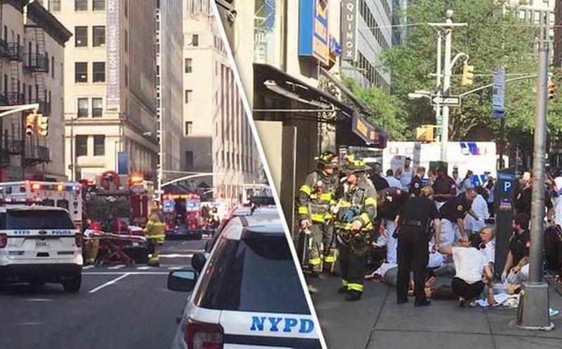 Explosión en Nueva York deja decenas de heridos